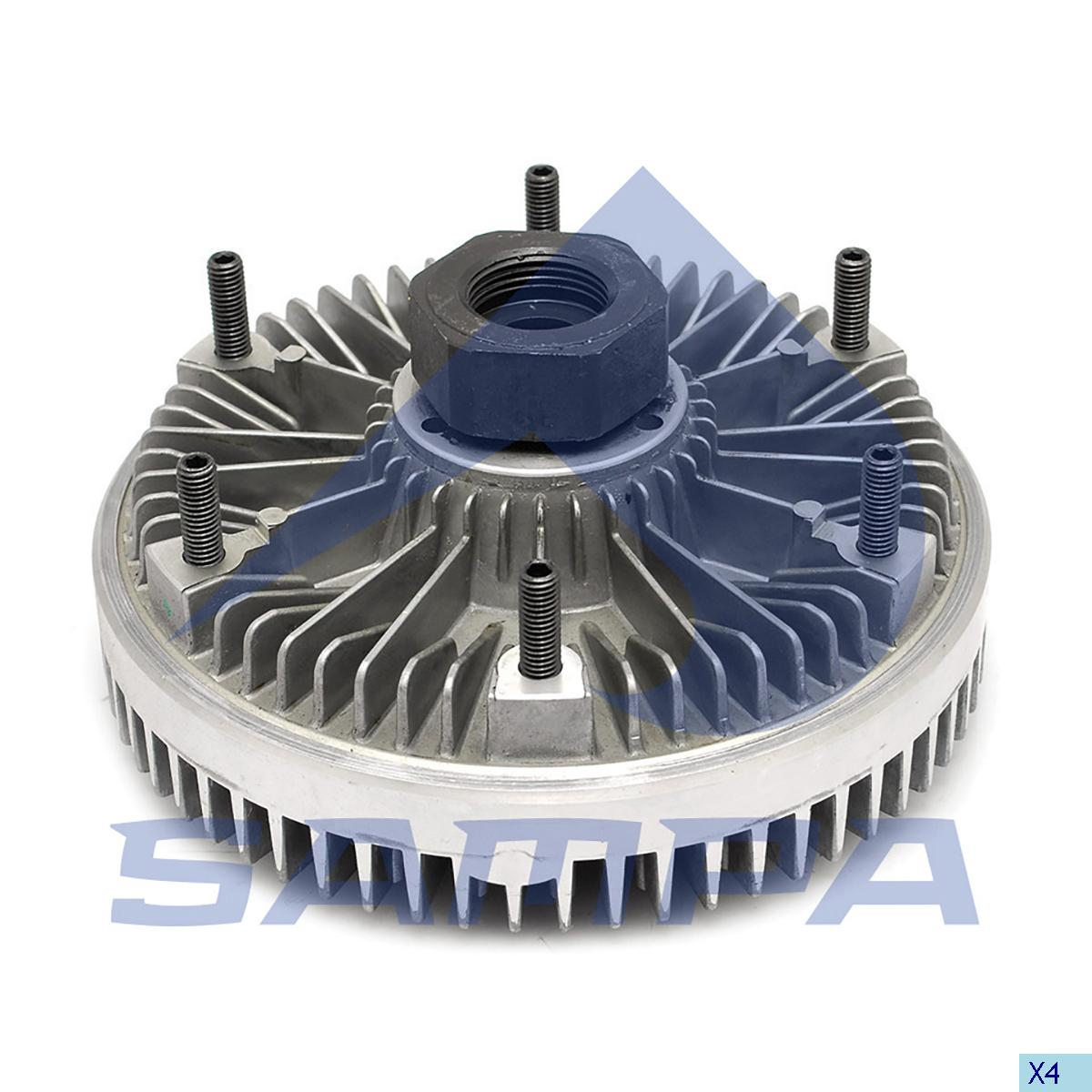 Visco Drive, Fan, R.V.I., Engine