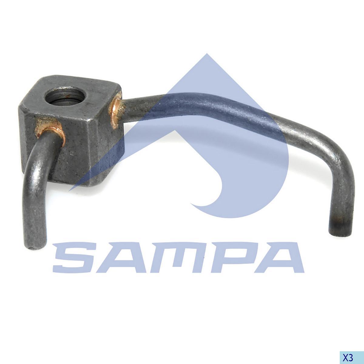Nozzle, Oil Pump, R.V.I., Engine