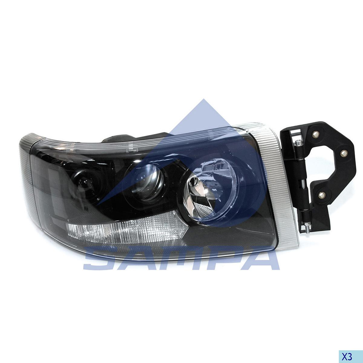 Head Lamp, R.V.I., Electric System