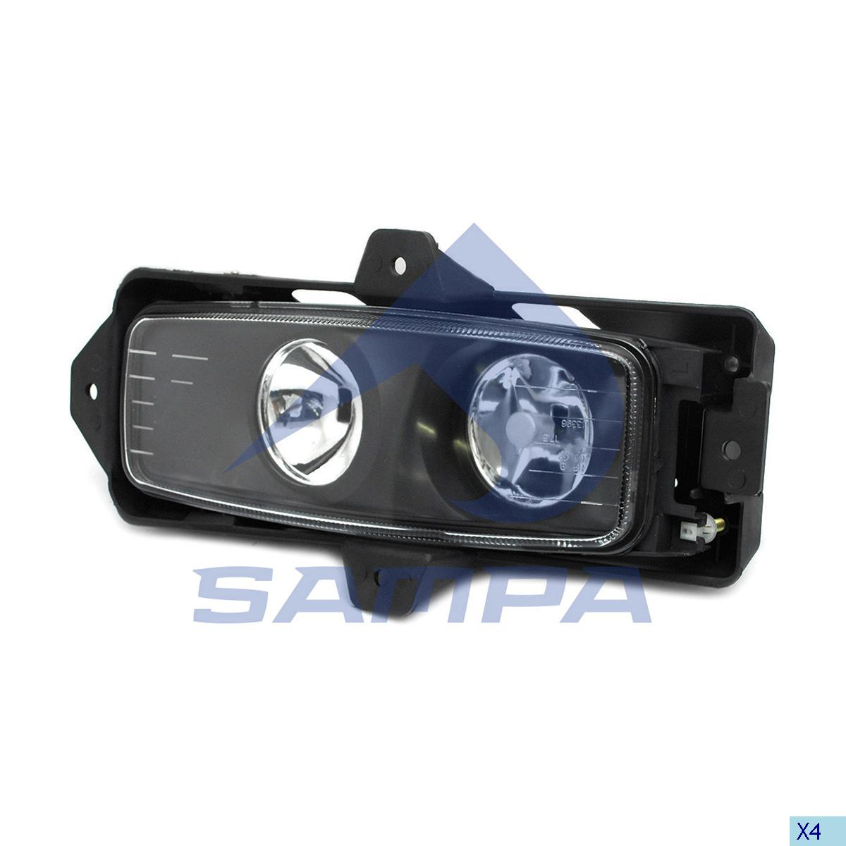 Fog Lamp, R.V.I., Electric System