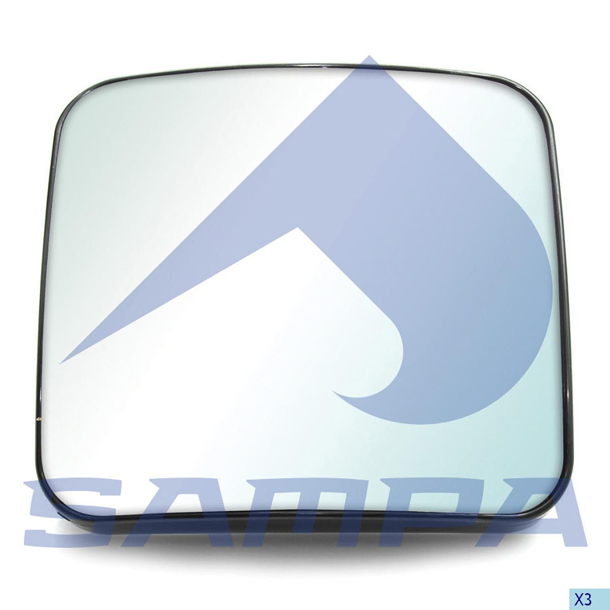 Mirror Glass, R.V.I., Cab