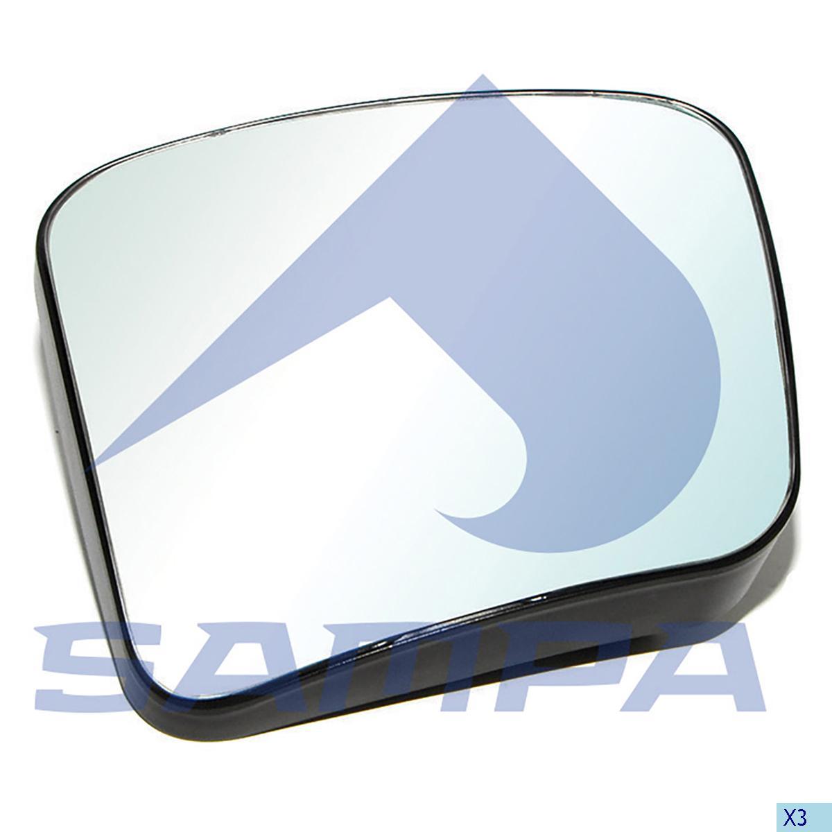 Mirror Glass, R.V.I., Cab