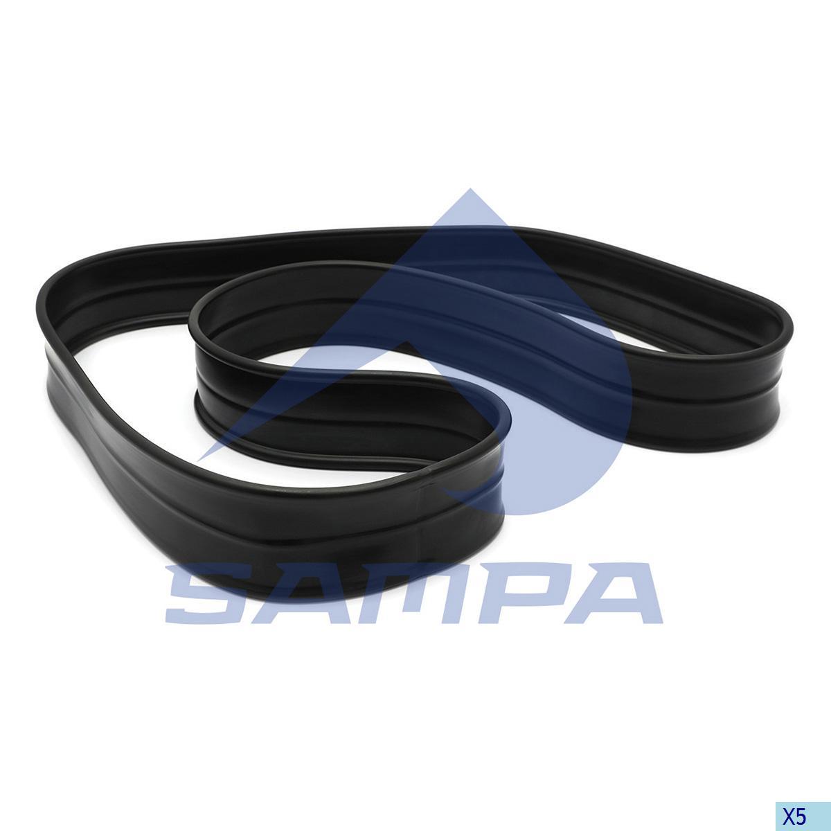 Rubber Ring, Fan, R.V.I., Engine