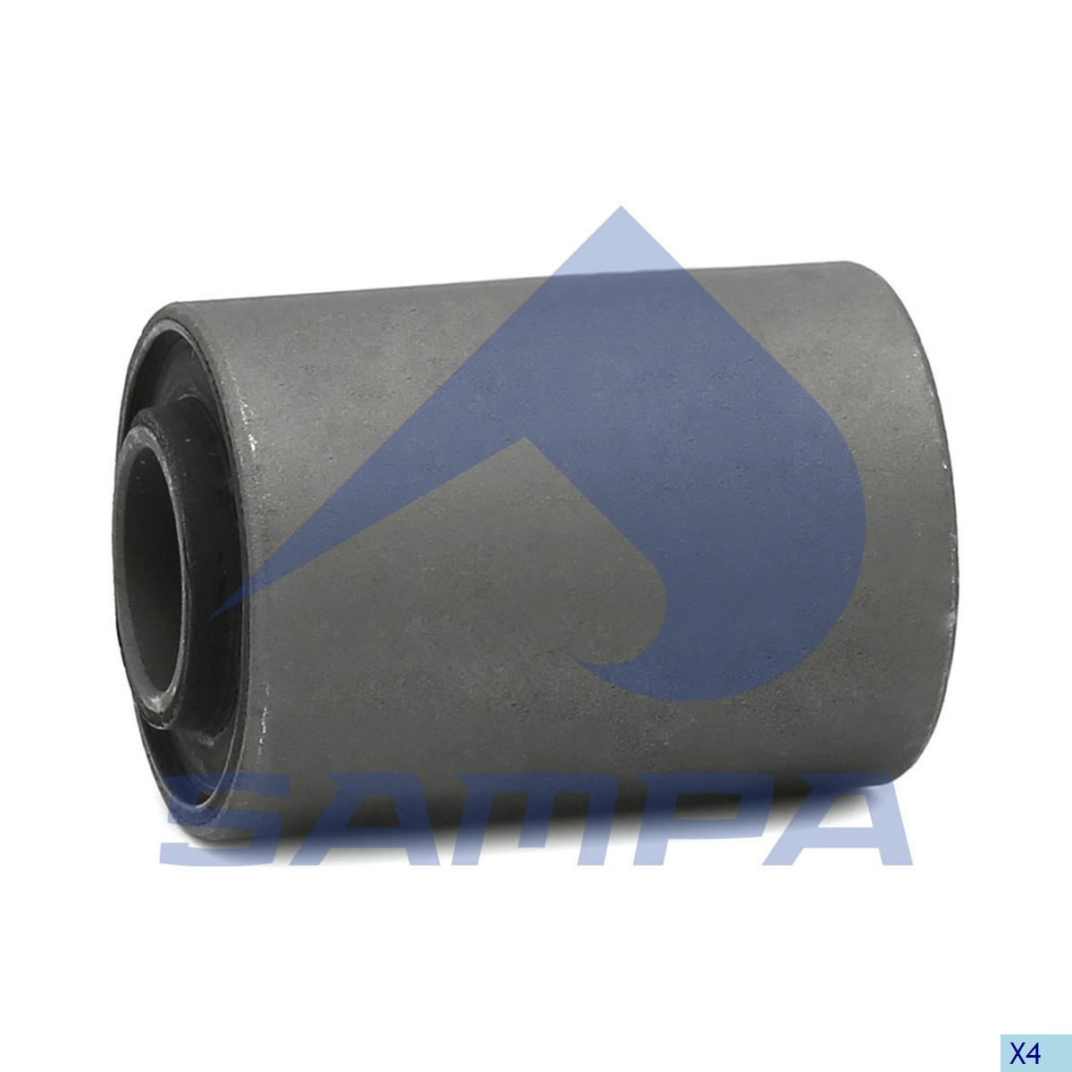 Rubber Bushing, Stabilizer Bar, R.V.I., Suspension