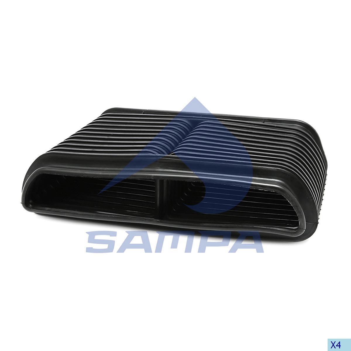 Bellow, Air Filter, R.V.I., Engine