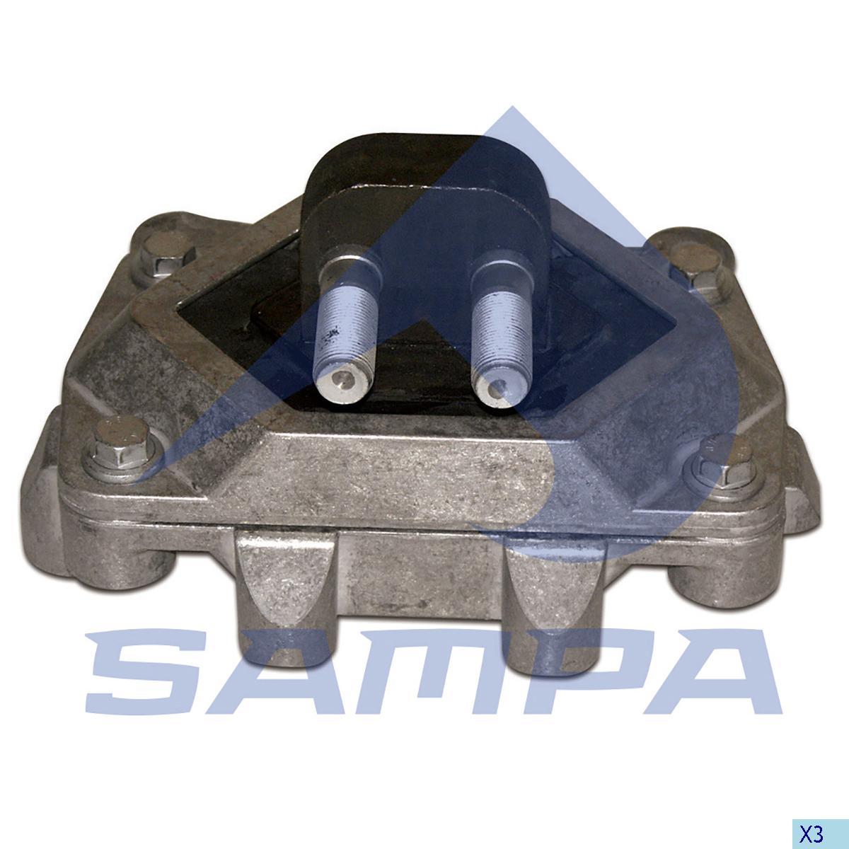 Mounting, Engine, R.V.I., Engine