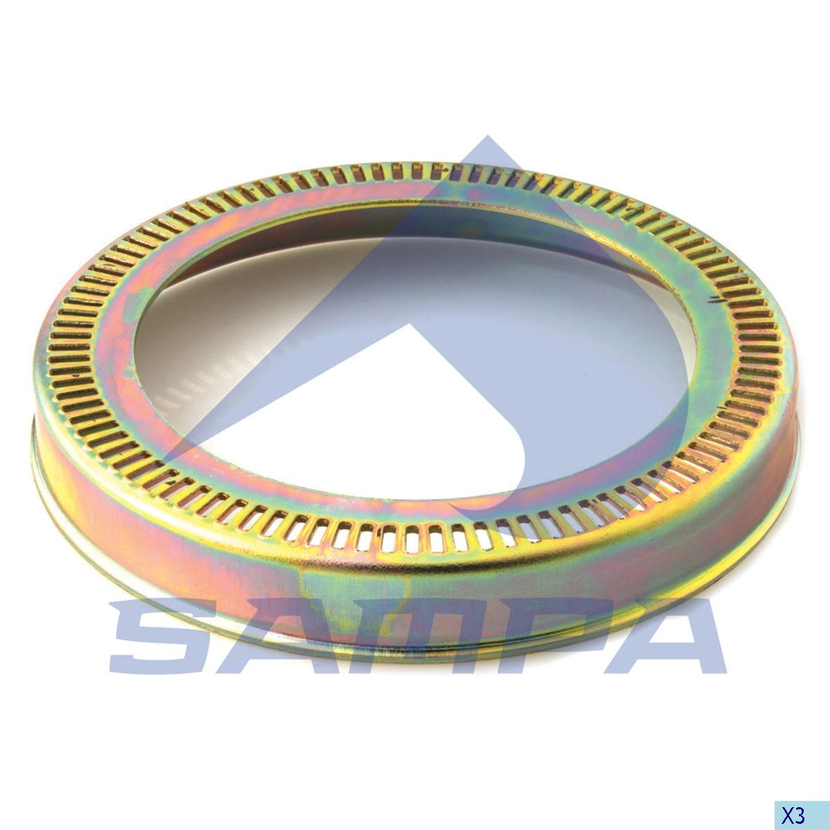 Ring, ABS, R.V.I., Brake