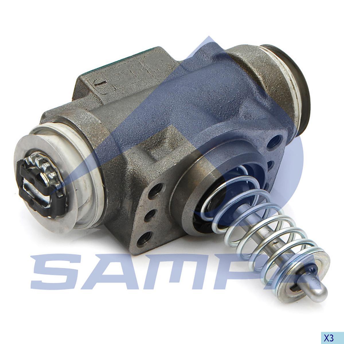 Adjusting Cylinder Assembly, Brake Adjuster, R.V.I., Brake