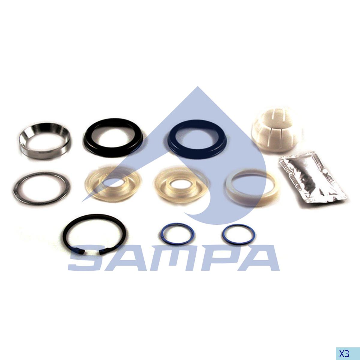 Repair Kit, Axle Rod, R.V.I., Suspension