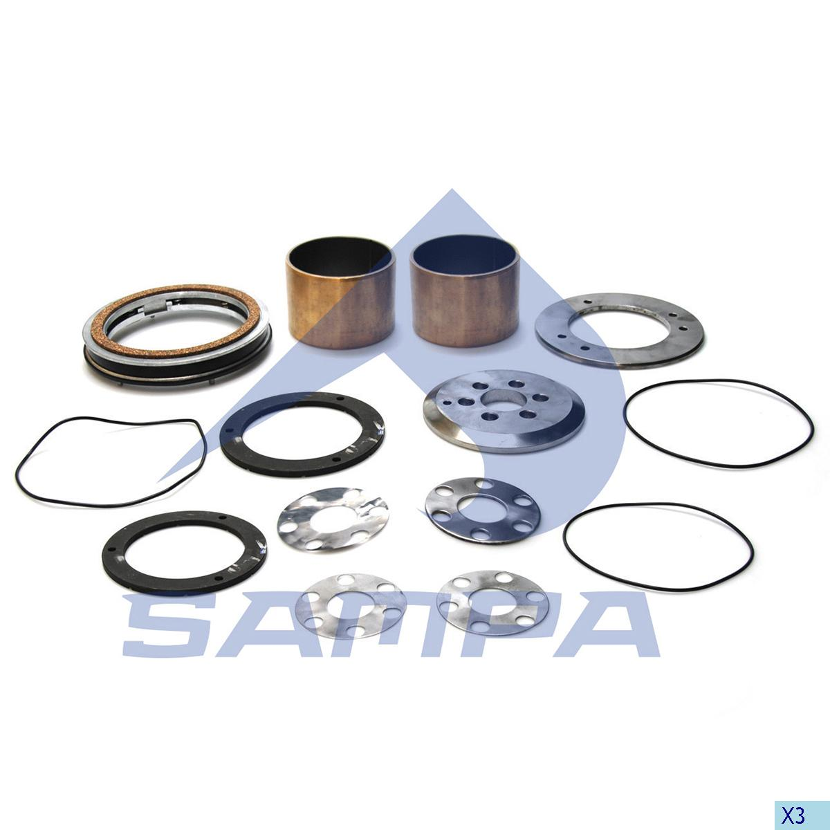 Repair Kit, Bogie Suspension, R.V.I., Suspension