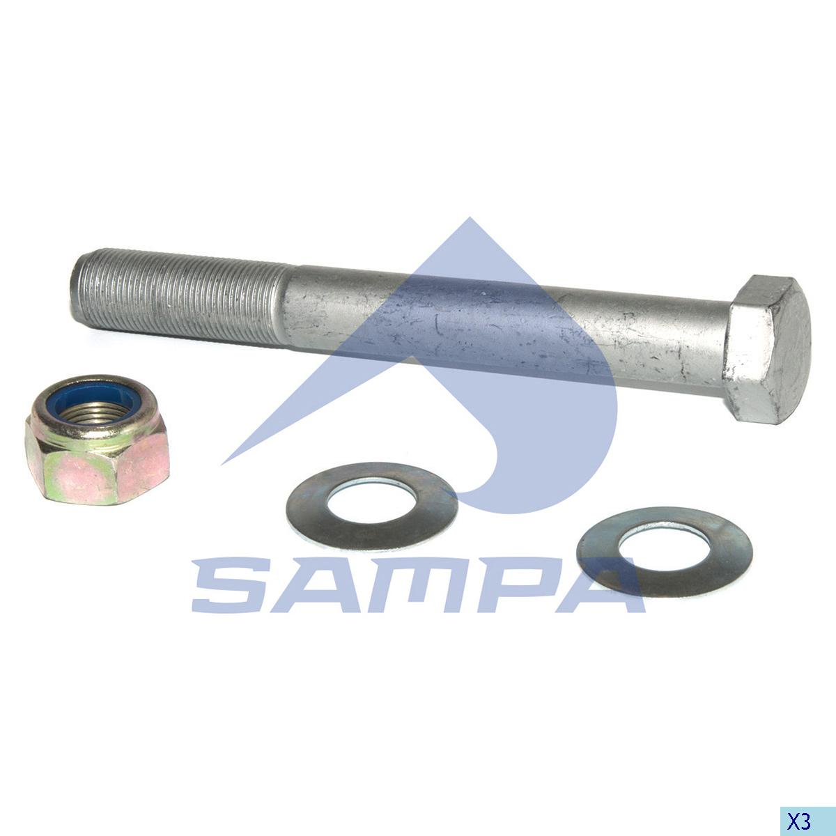 Repair Kit, Spring, R.V.I., Suspension