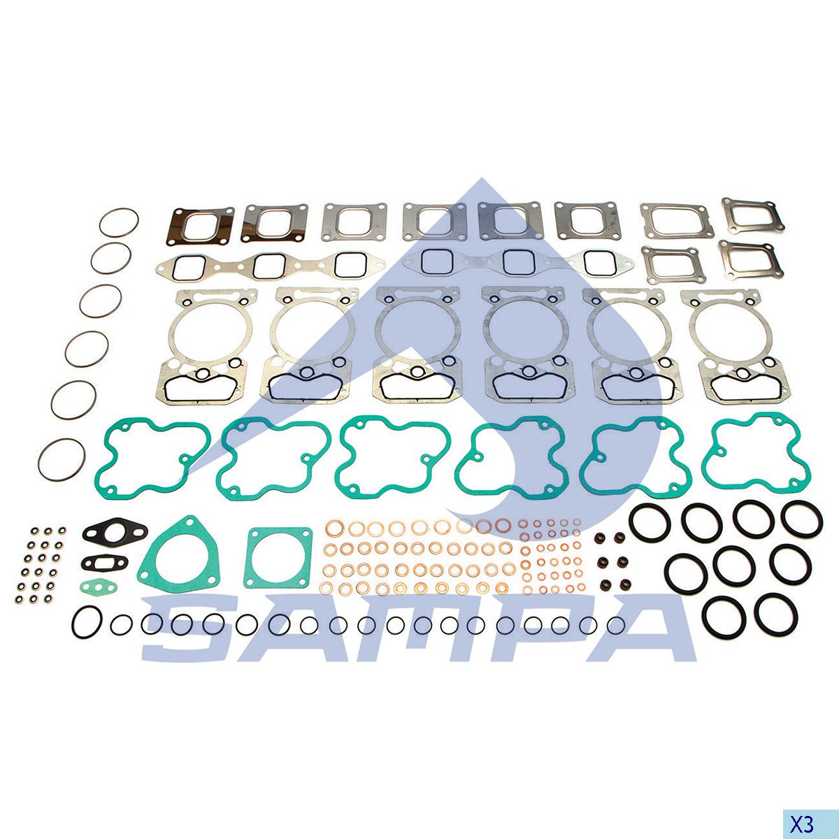 Gasket Kit, Cylinder Head, R.V.I., Engine