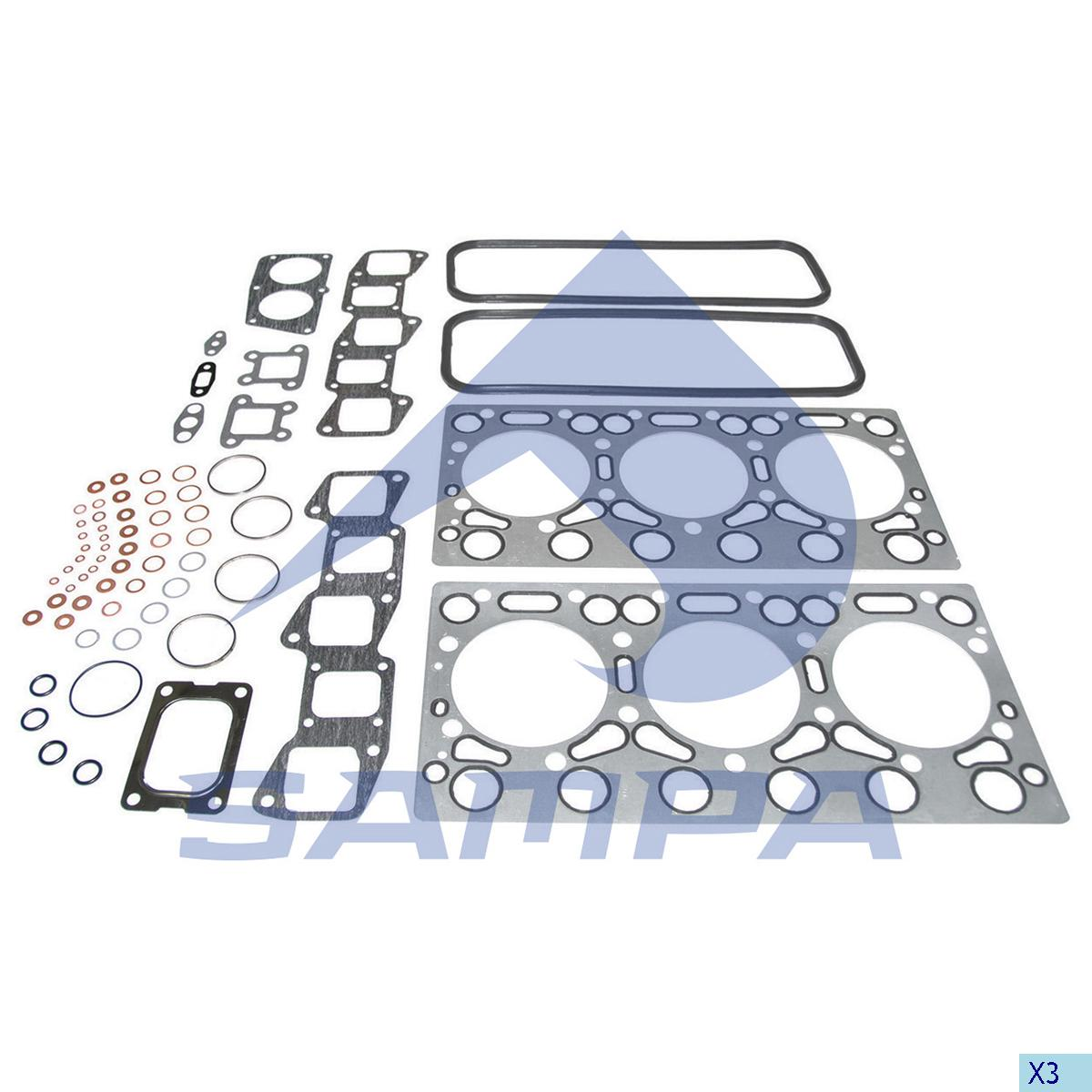 Gasket Kit, Cylinder Block, R.V.I., Engine