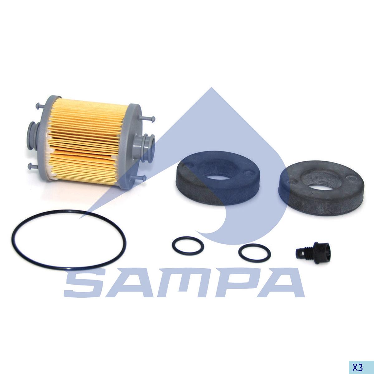 Filter Set, SCR System, Iveco, Engine