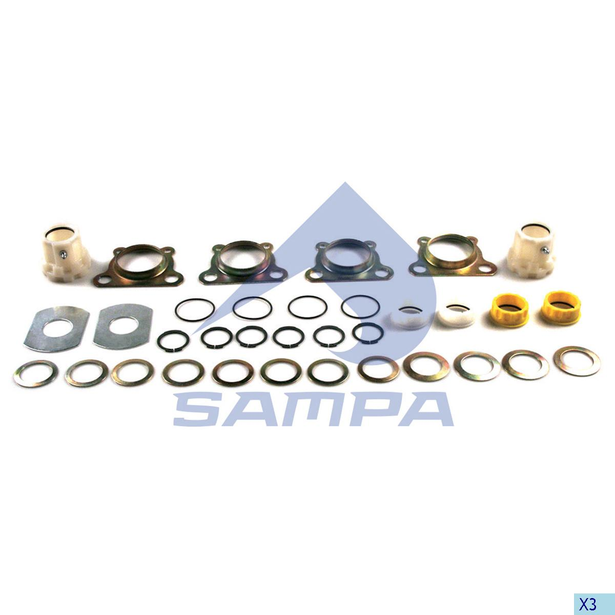 Repair Kit, Brake Cam Shaft, Trailor, Brake