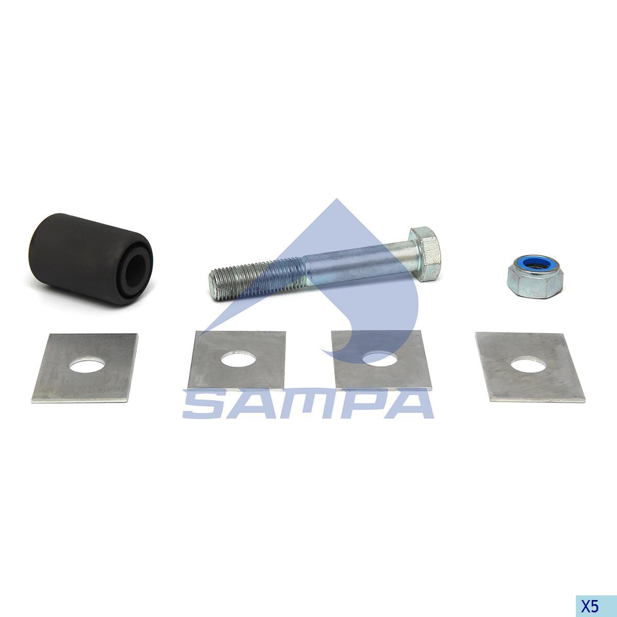 Repair Kit, Spring, Trailor, Suspension