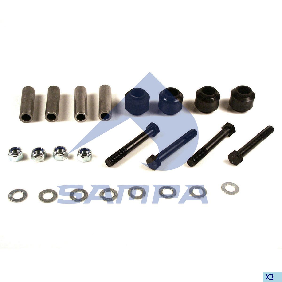 Repair Kit, Spring, Trailor, Suspension