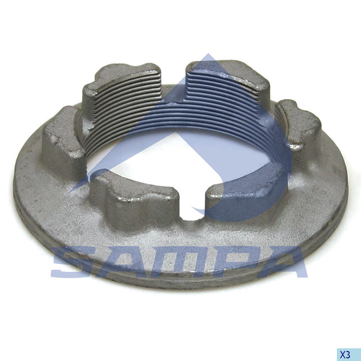 Axle Nut, Power Unit