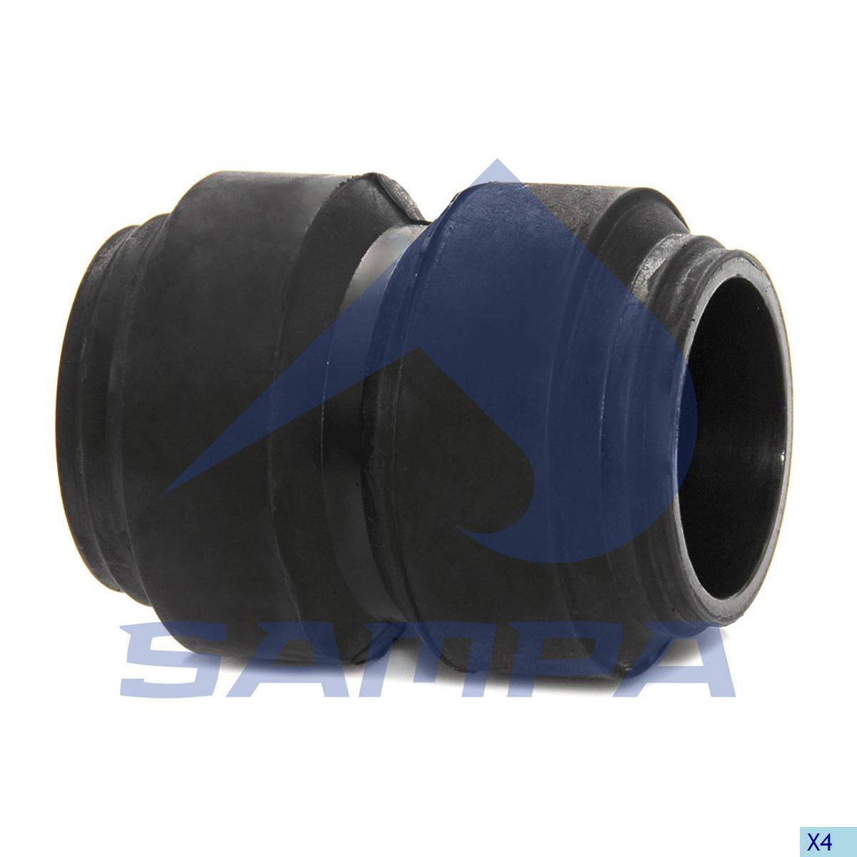 Rubber Bushing, Spring, Ror-Meritor, Suspension