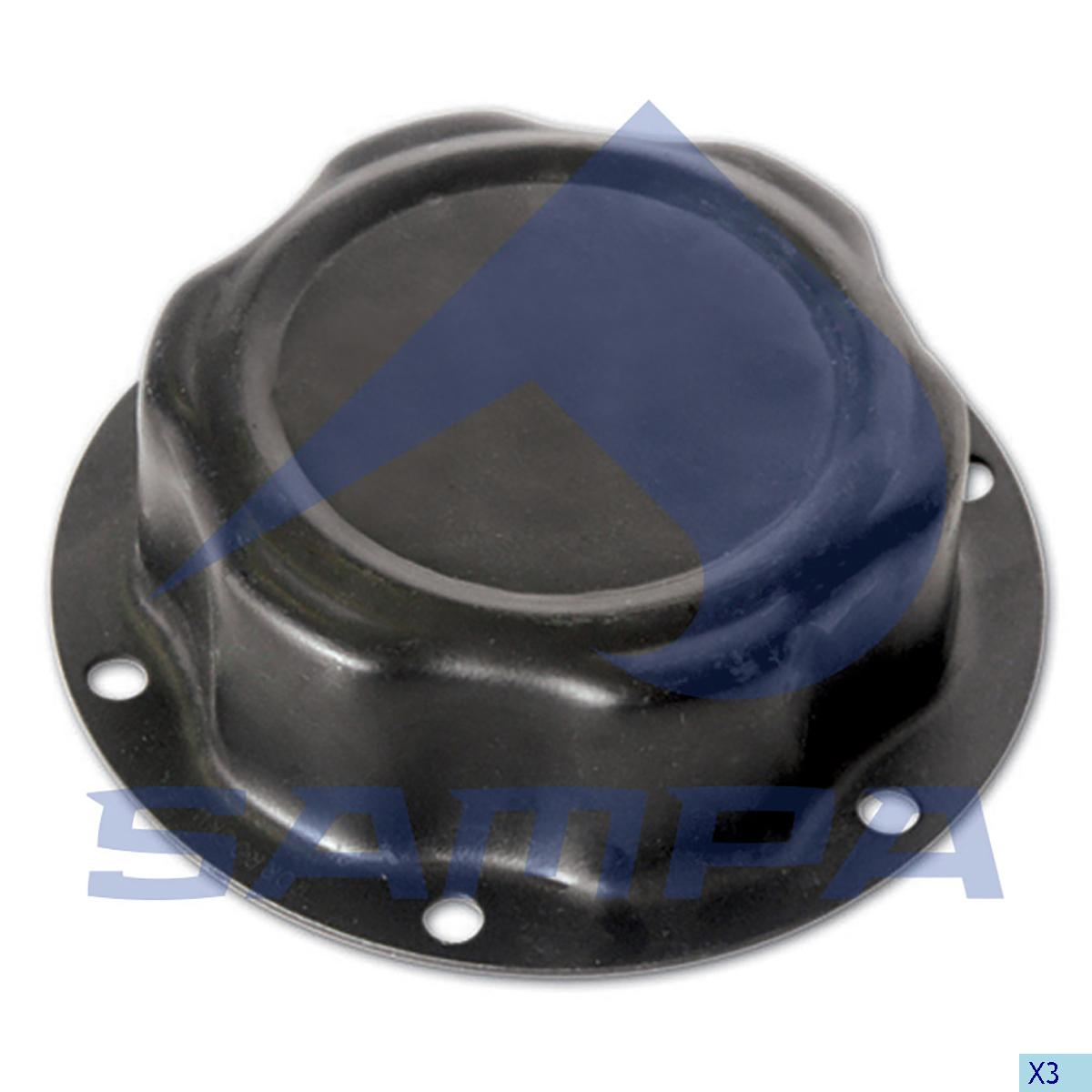 Hub Cap, Ror-Meritor, Power Unit