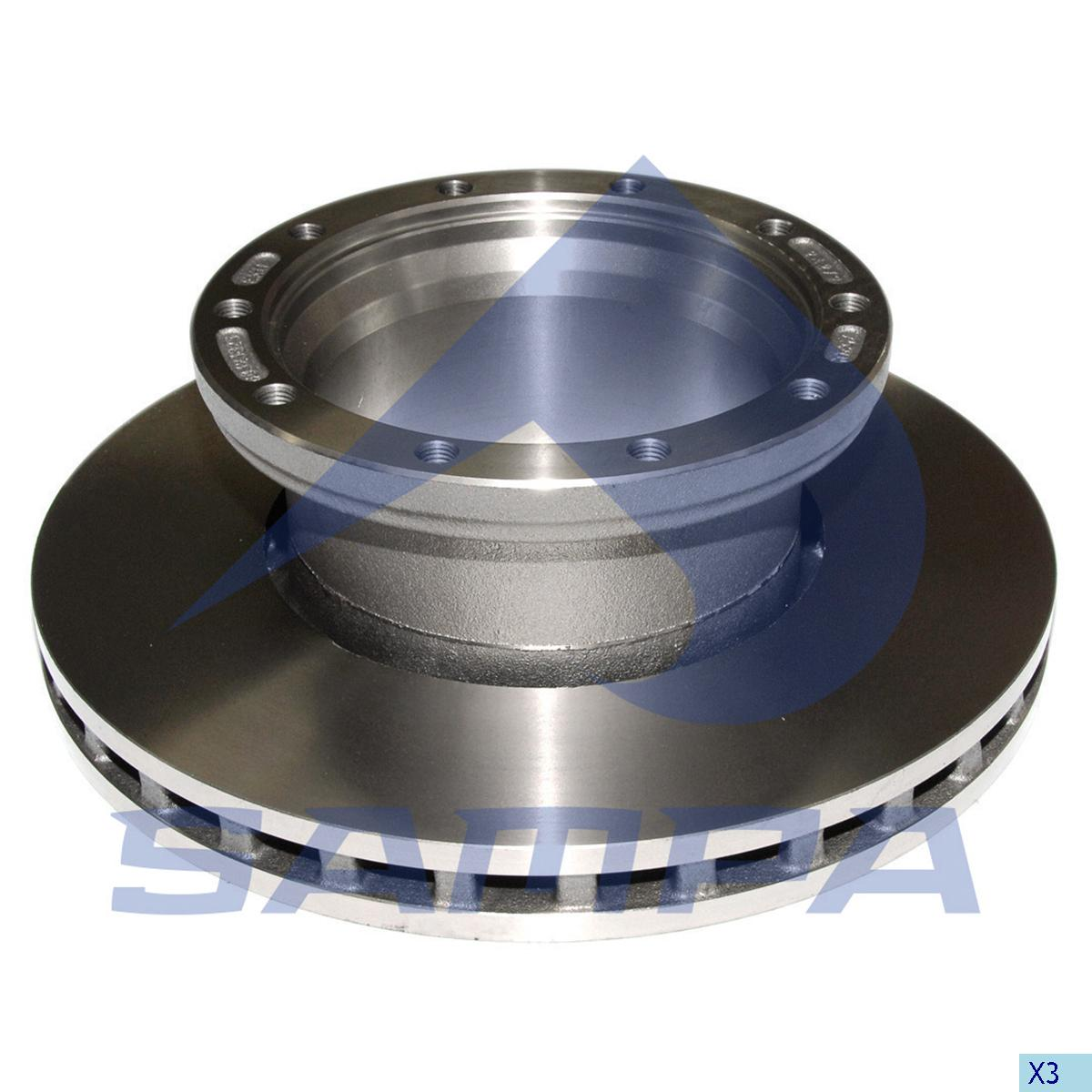 Brake Disc, Ror-Meritor, Brake