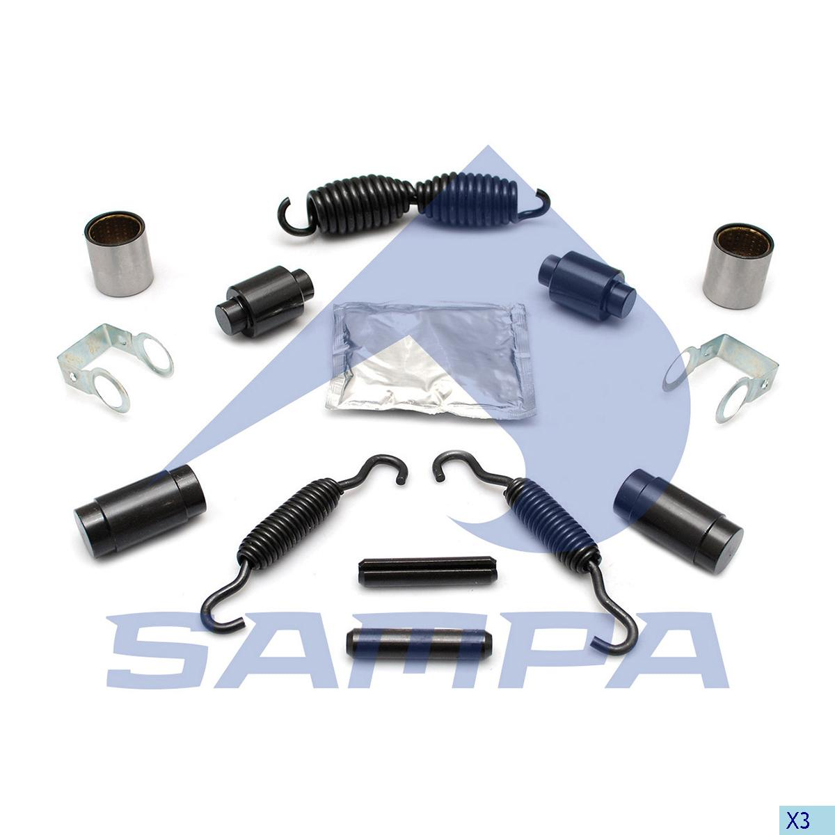 Repair Kit, Brake Shoe, Ror-Meritor, Brake