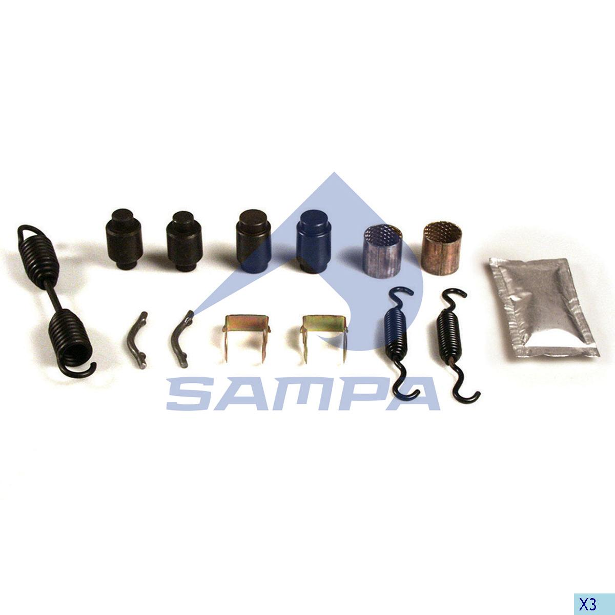 Repair Kit, Brake Shoe, Ror-Meritor, Brake