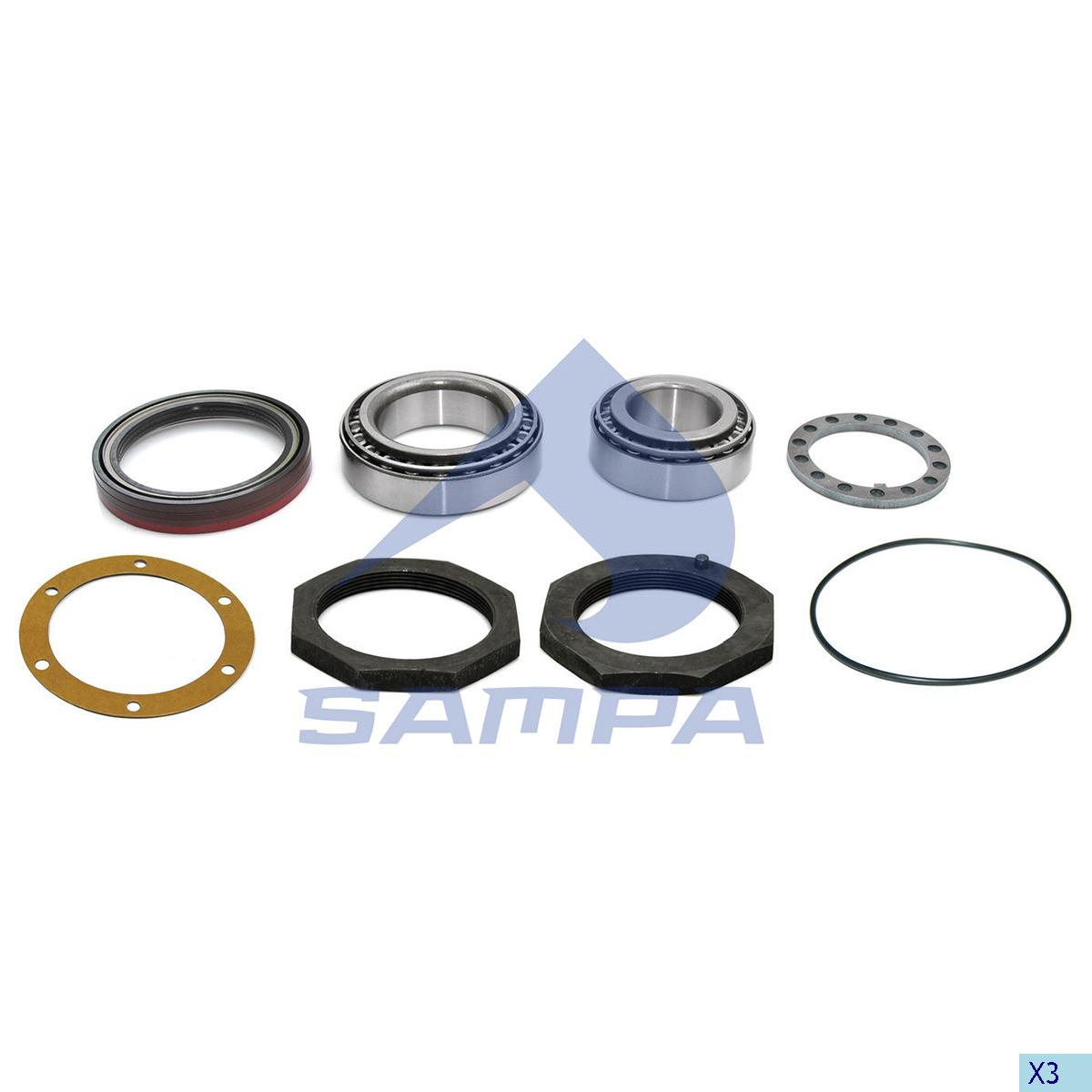 Repair Kit, Axle, Ror-Meritor, Power Unit