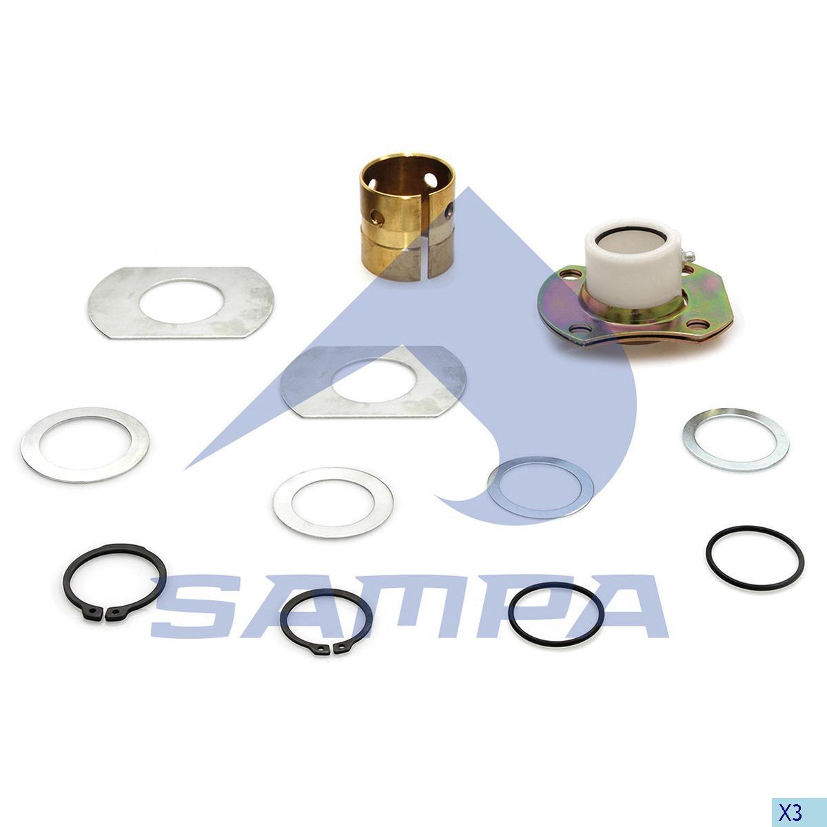 Repair Kit, Brake Cam Shaft, Ror-Meritor, Brake