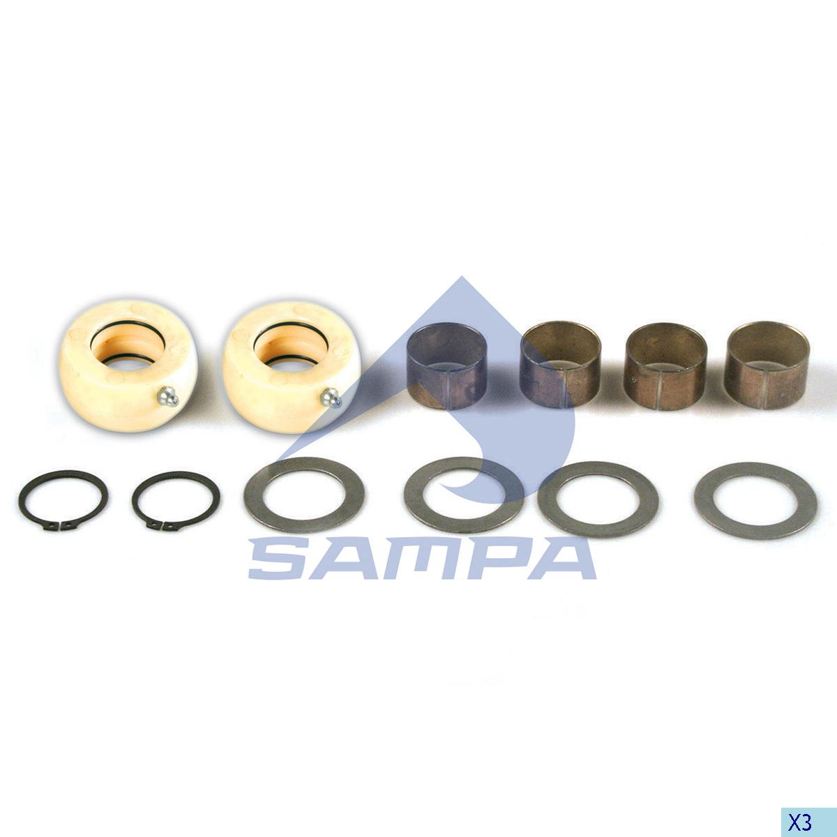 Repair Kit, Brake Cam Shaft, Sae-Gigant, Brake