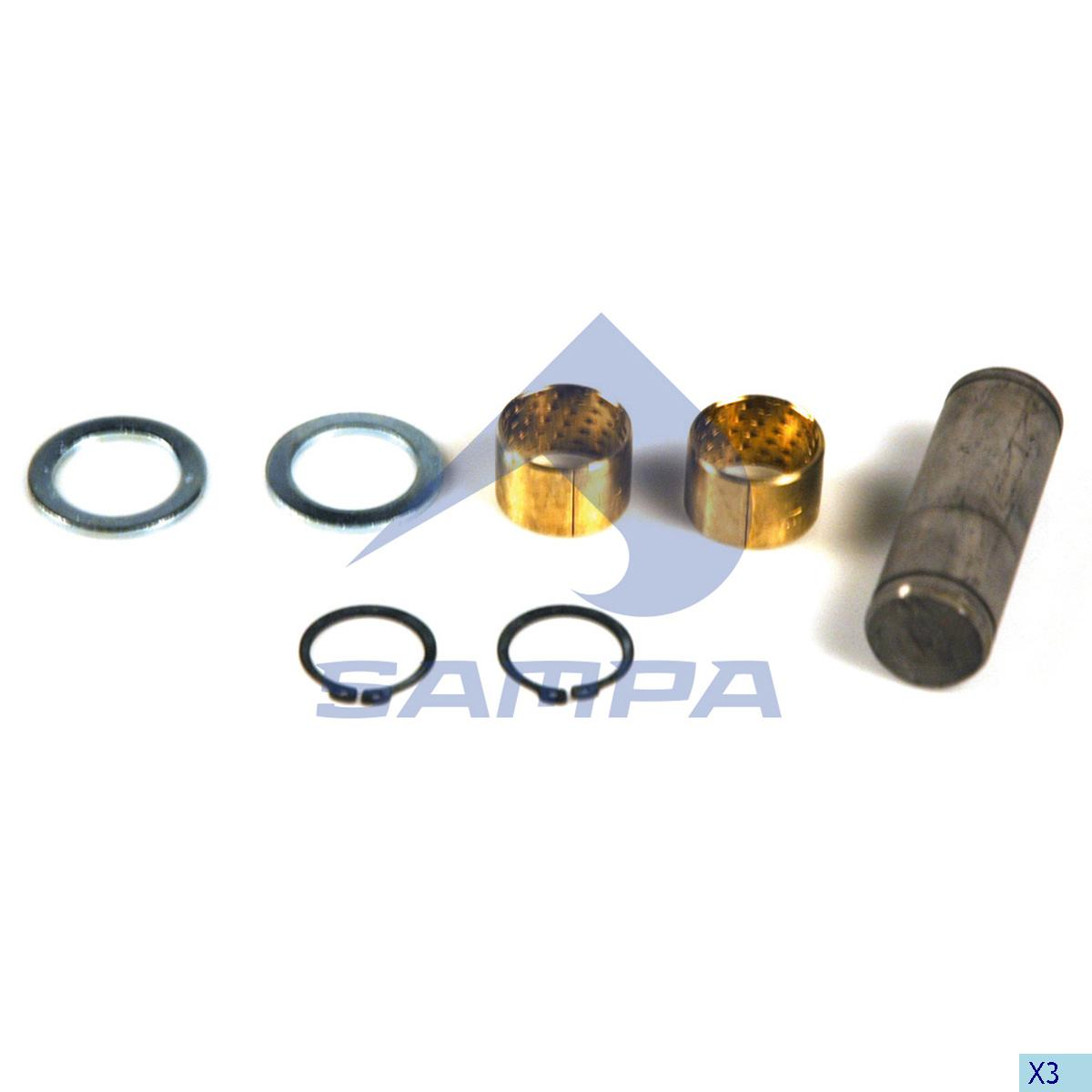 Repair Kit, Brake Shoe, Sae-Gigant, Brake