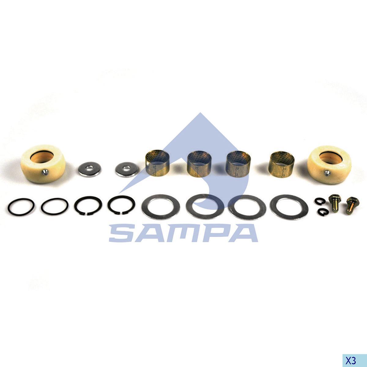 Repair Kit, Brake Cam Shaft, Sae-Gigant, Brake
