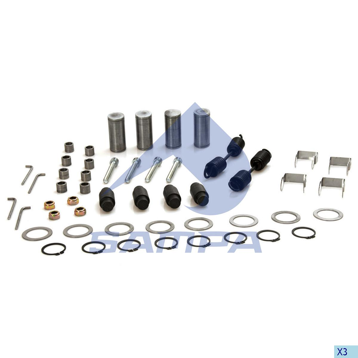 Repair Kit, Brake Shoe, SMB, Brake