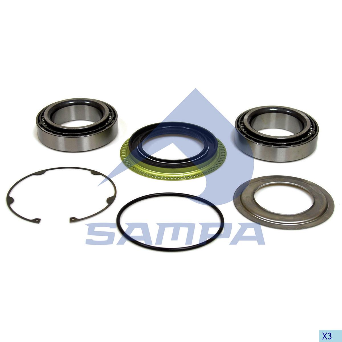 Repair Kit, Wheel Hub, SMB, Power Unit