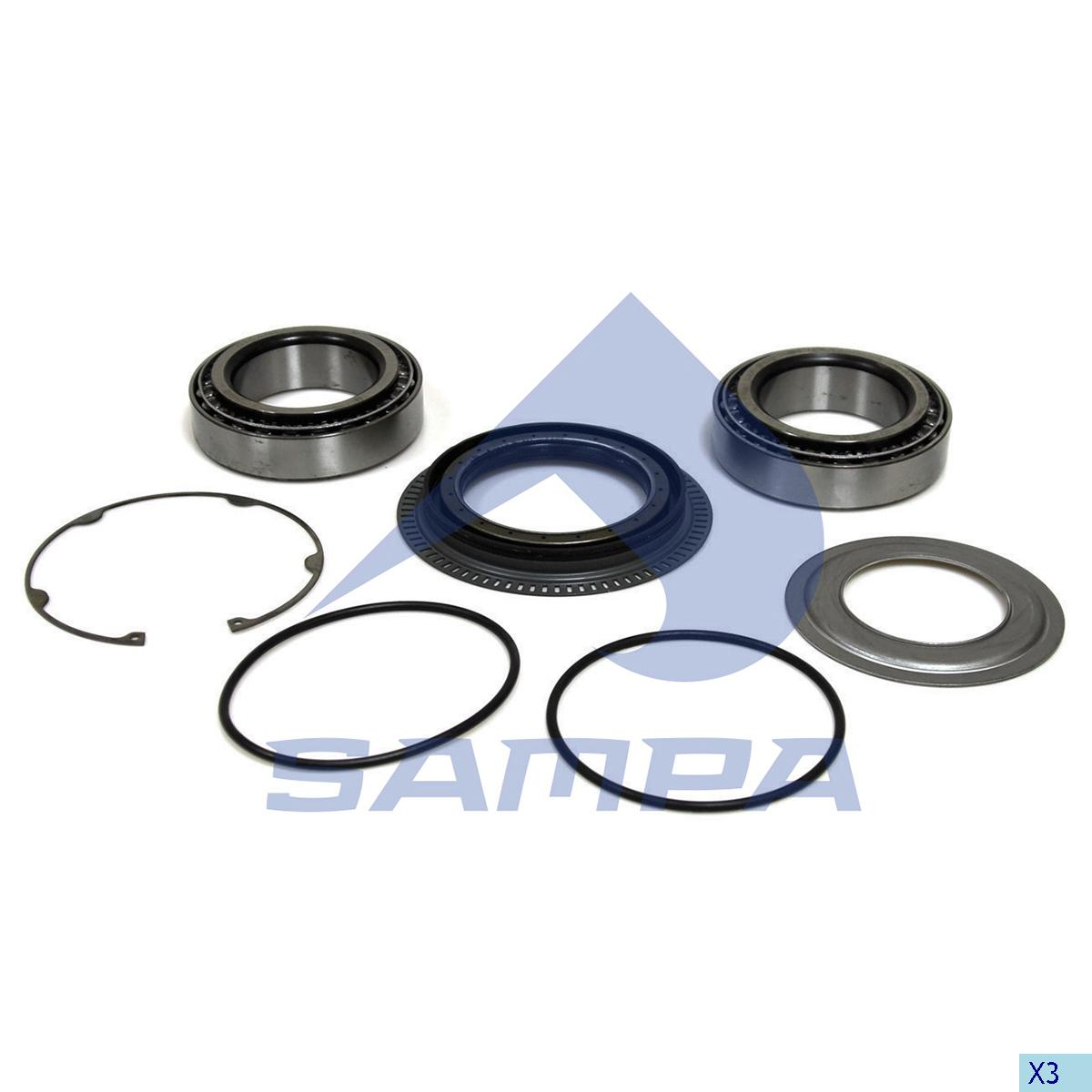 Repair Kit, Wheel Hub, Smb, Power Unit