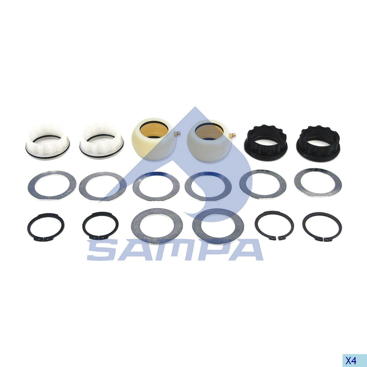Repair Kit, Brake Cam Shaft, Fruehauf, Brake