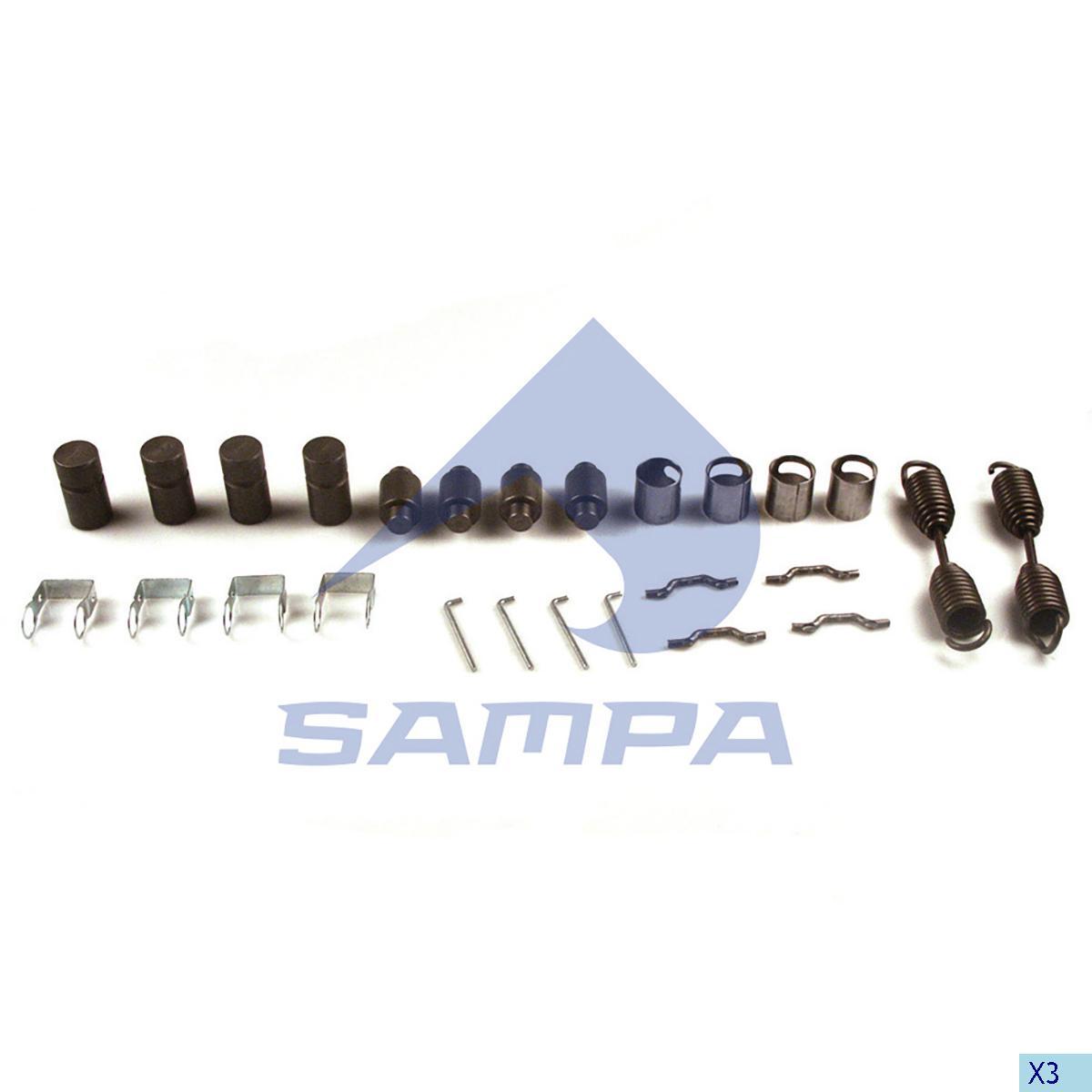 Repair Kit, Brake Shoe, Fruehauf, Brake
