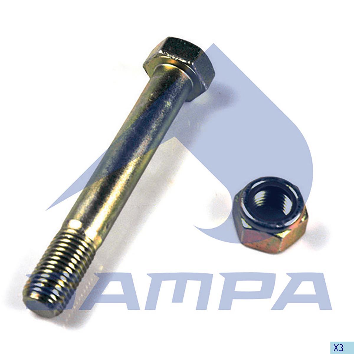 Repair Kit, Spring, Fruehauf, Suspension