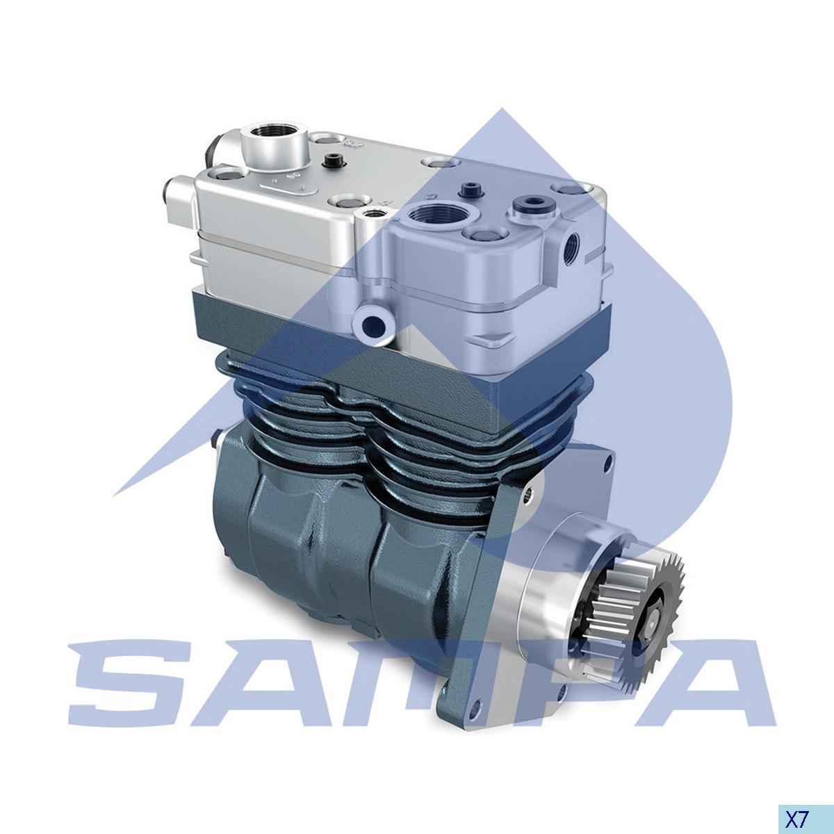 Compressor, Mercedes, Compressed Air System