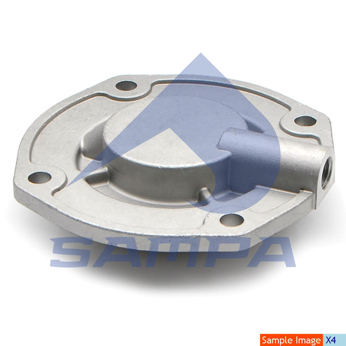Cover, Cylinder Block, Mercedes, Compressed Air System