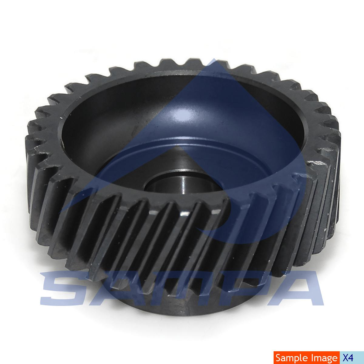 Gear, Compressor, Man, Compressed Air System