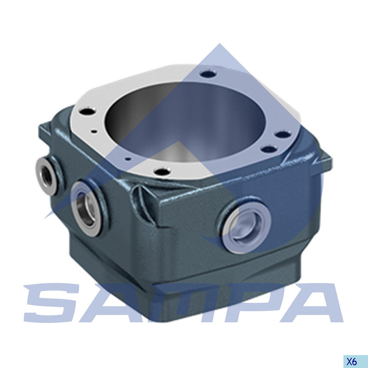 Cylinder Liner, Piston, Man, Compressed Air System