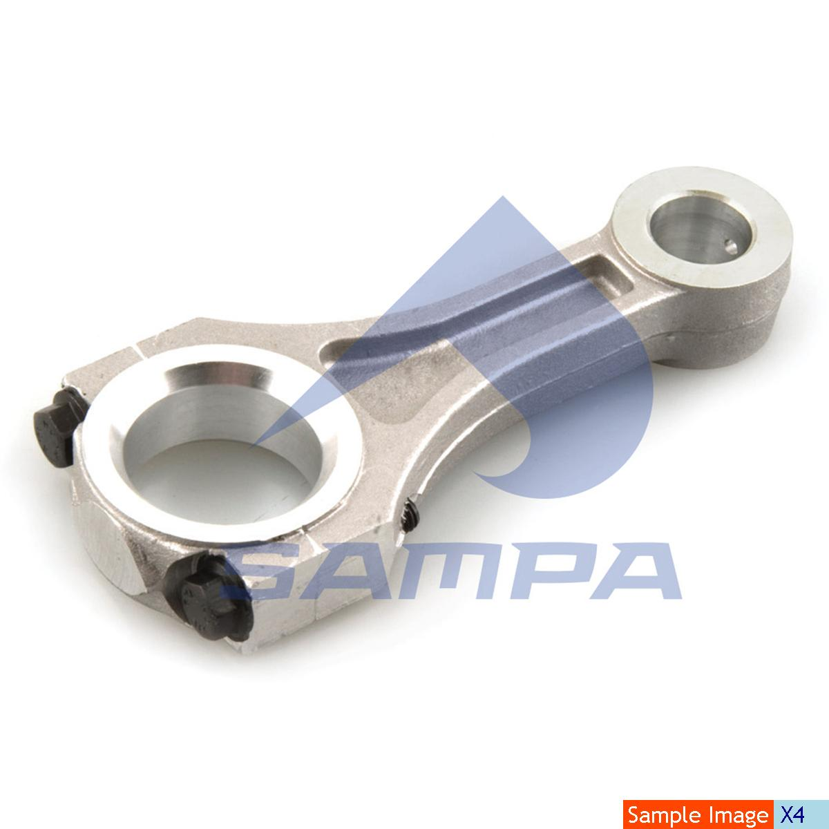 Connecting Rod, Piston, Man, Compressed Air System