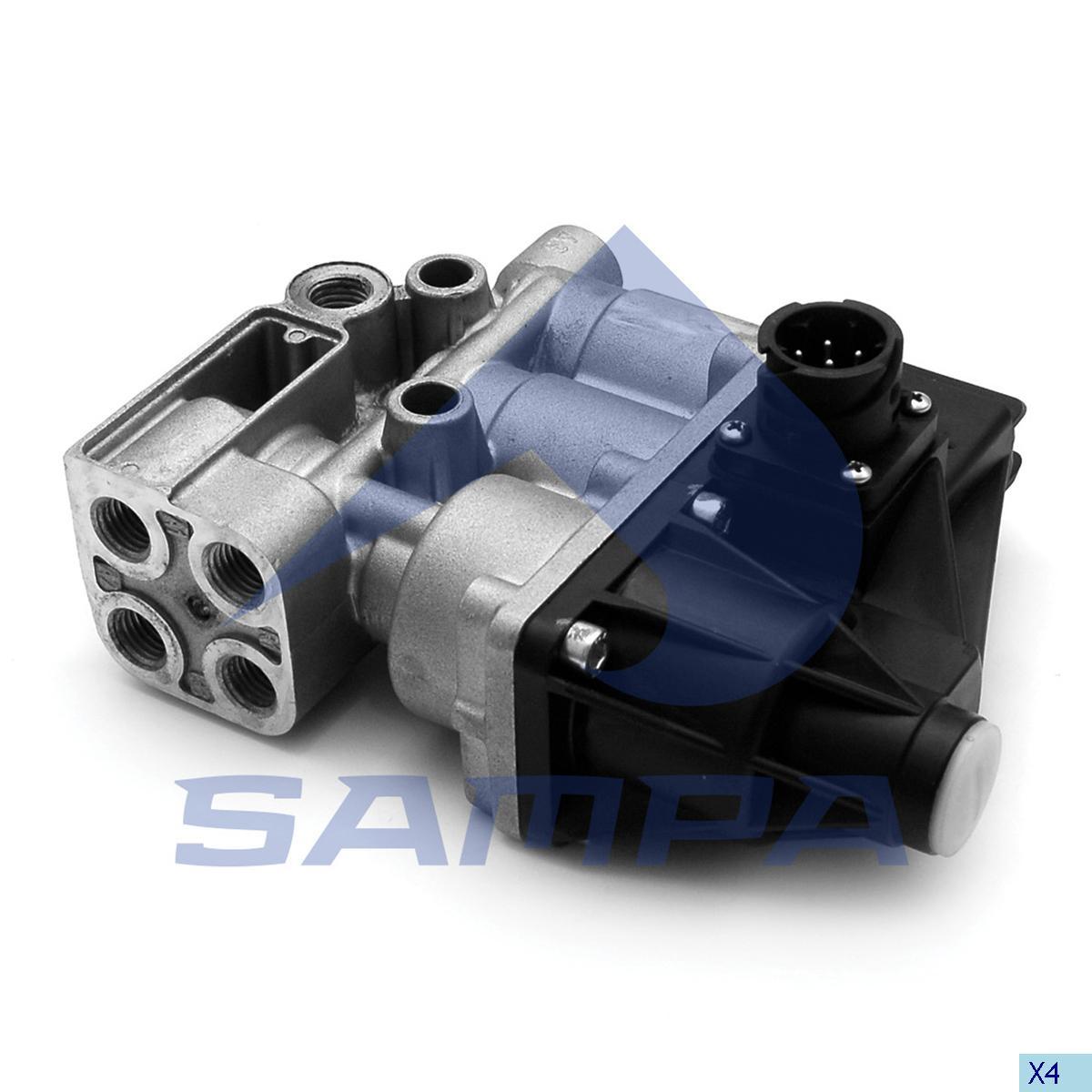 Solenoid Valve, Scania, Compressed Air System