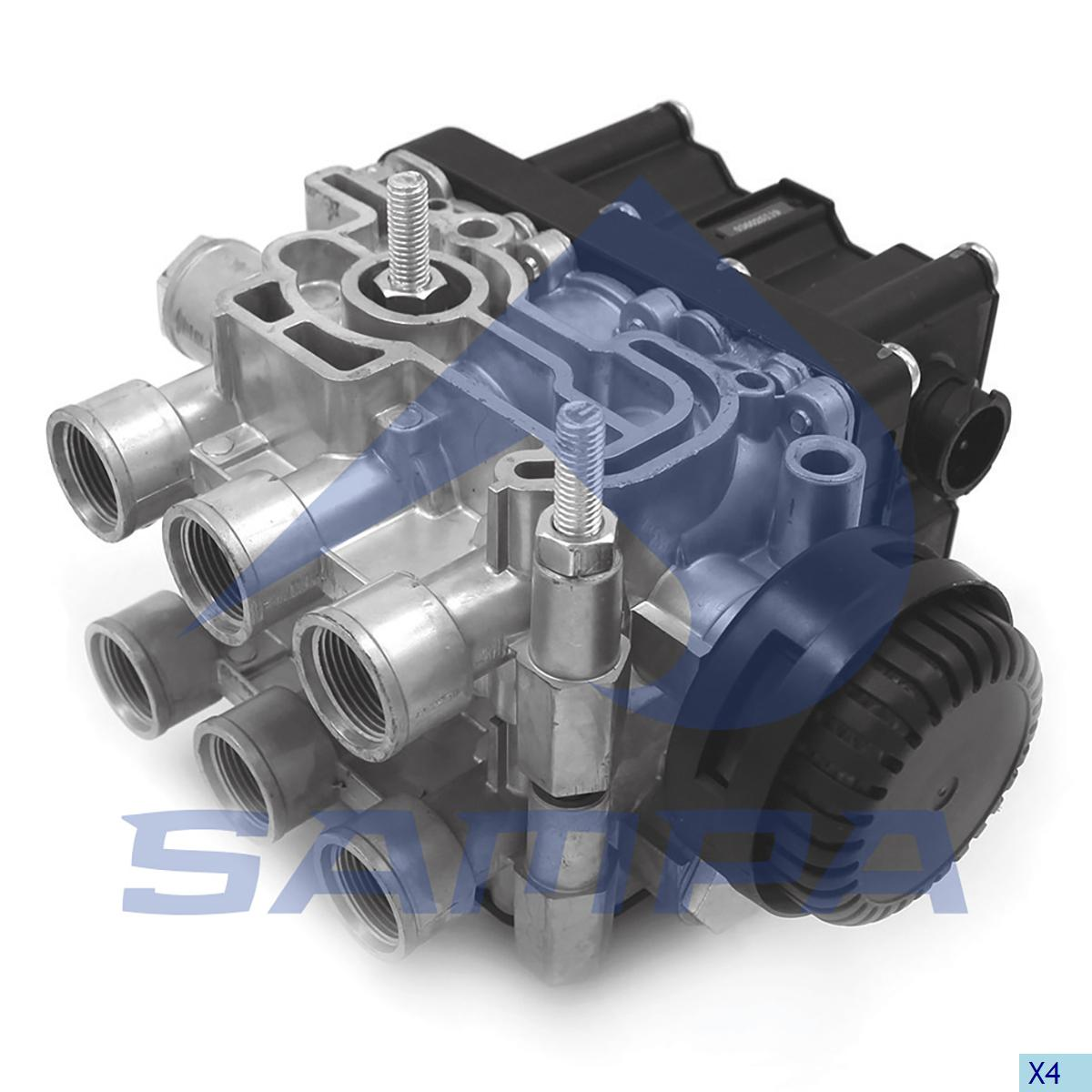 Solenoid Valve, Iveco, Compressed Air System