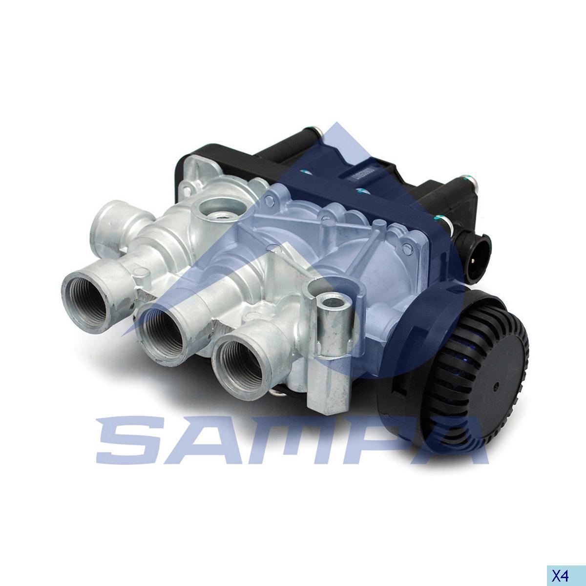 Solenoid Valve, Volvo, Compressed Air System