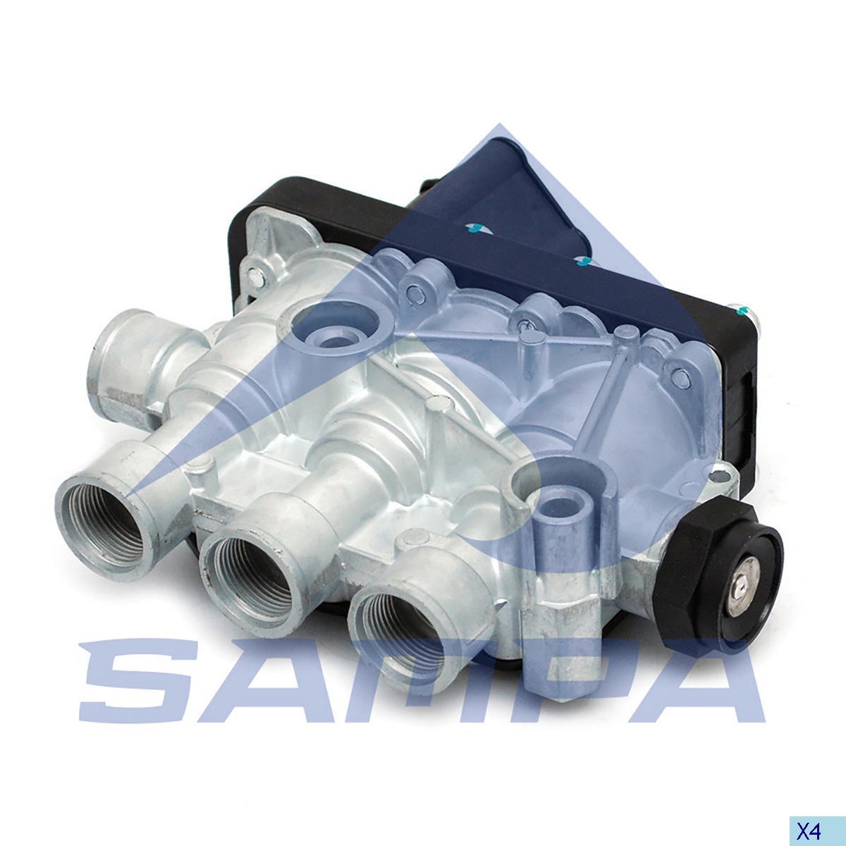 Solenoid Valve, Mercedes, Compressed Air System