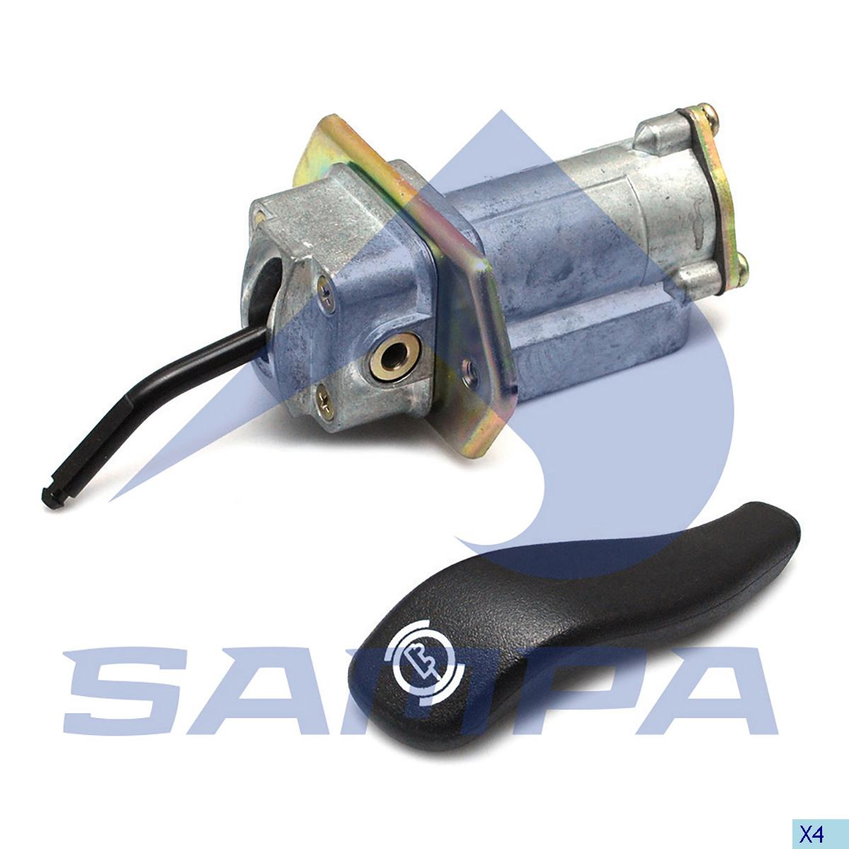 Hand Brake Valve, Volvo, Compressed Air System