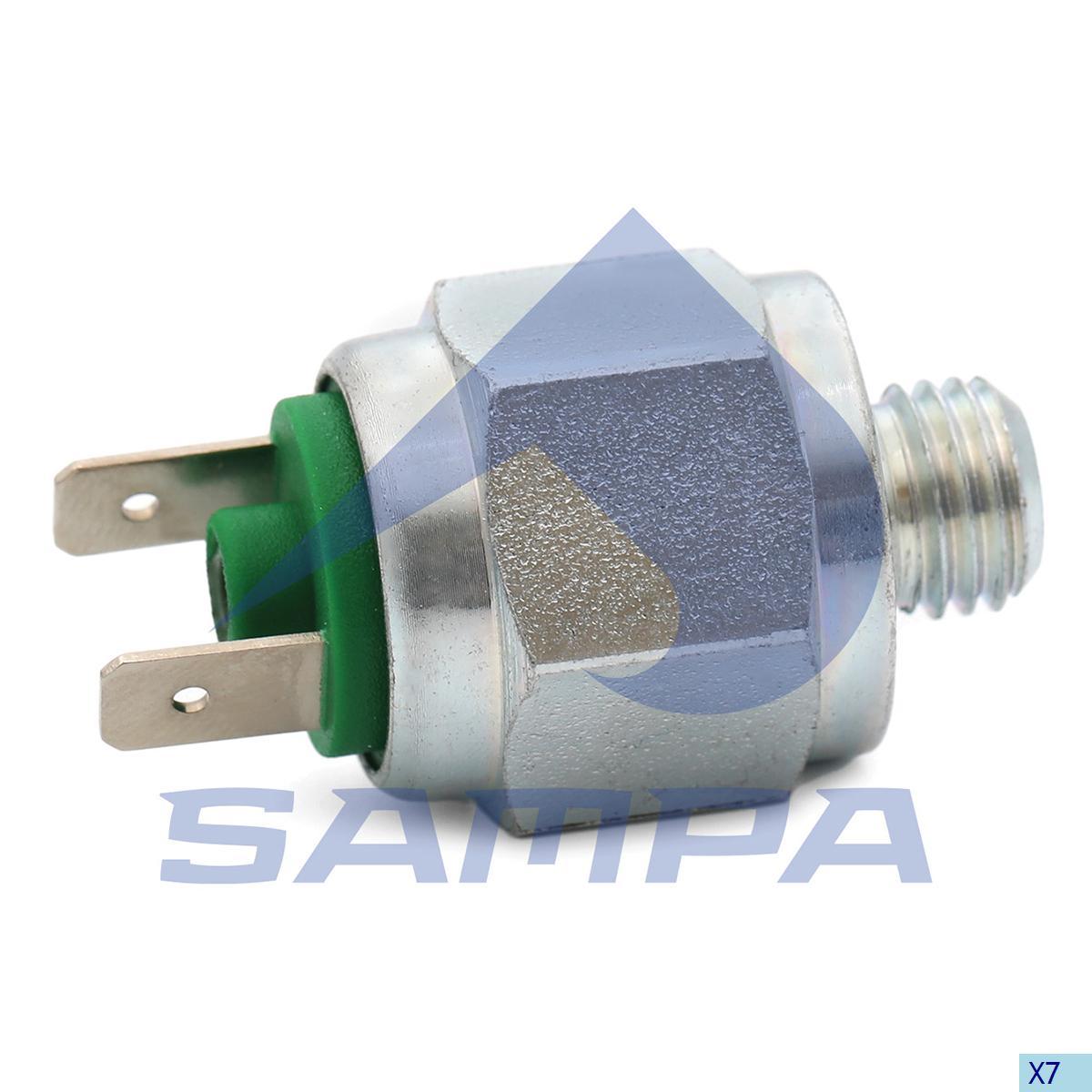 Pressure Sensor, Daf, Electric System