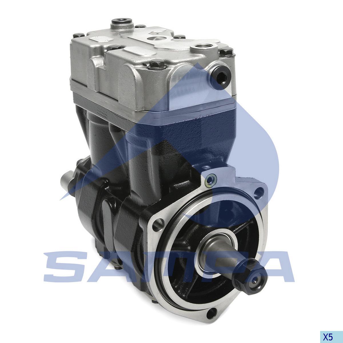Compressor, Iveco, Compressed Air System